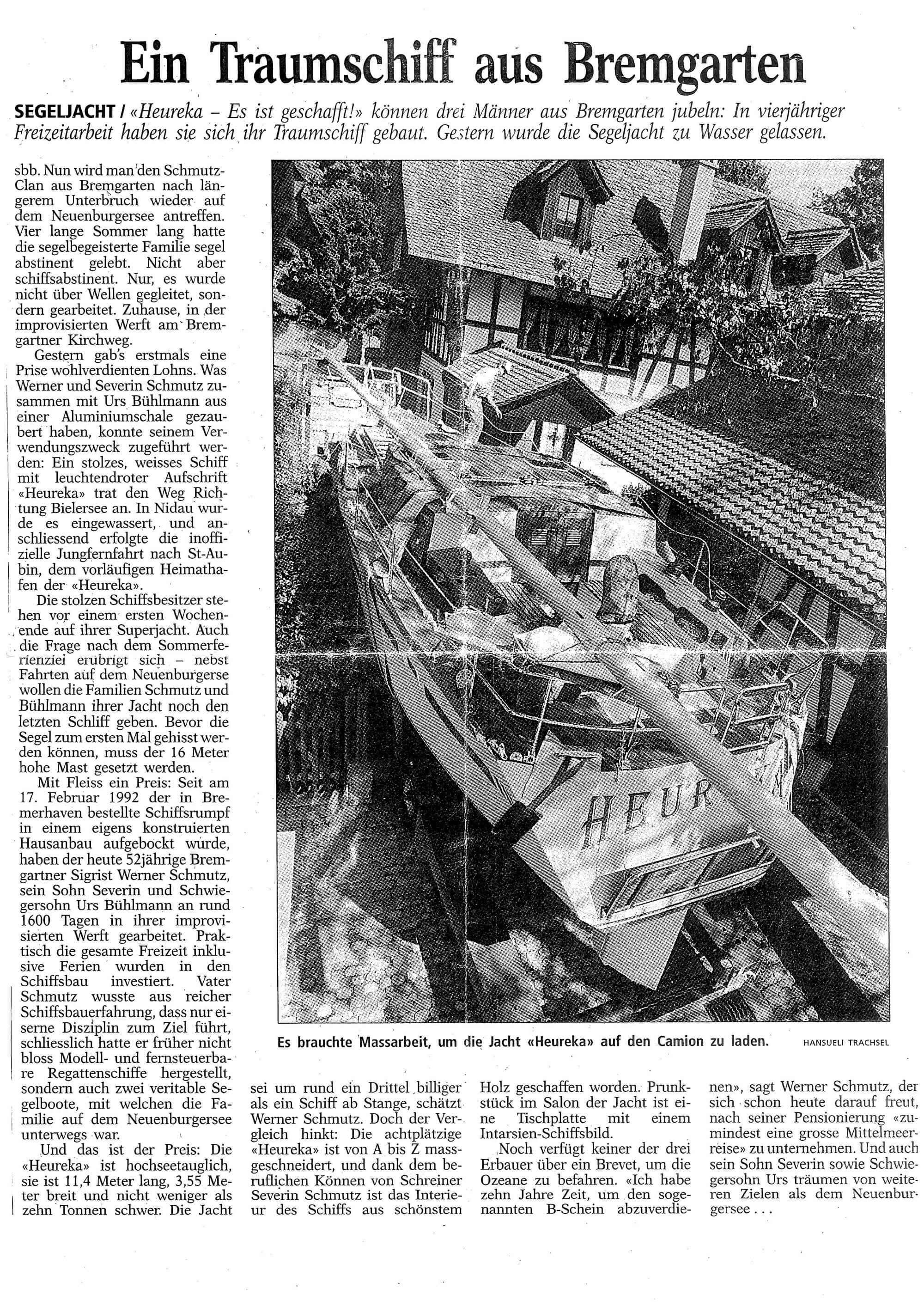 Ein Traumschiff aus Bremgarten